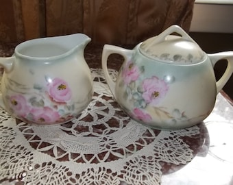 Vintage Royal Cream and Sugar Set