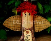 Primitive Folk Art Raggedy Angel