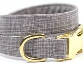 Brass Gold dog collar - Preppy Collar - The Aristocrat