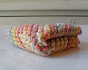 Pastel Peppercorn Cotton Dishcloth