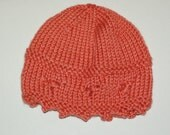 Baby Girl Knit Hat 3-6 mo...