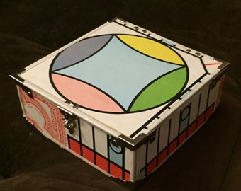1974 Parcheesi Game Board Box