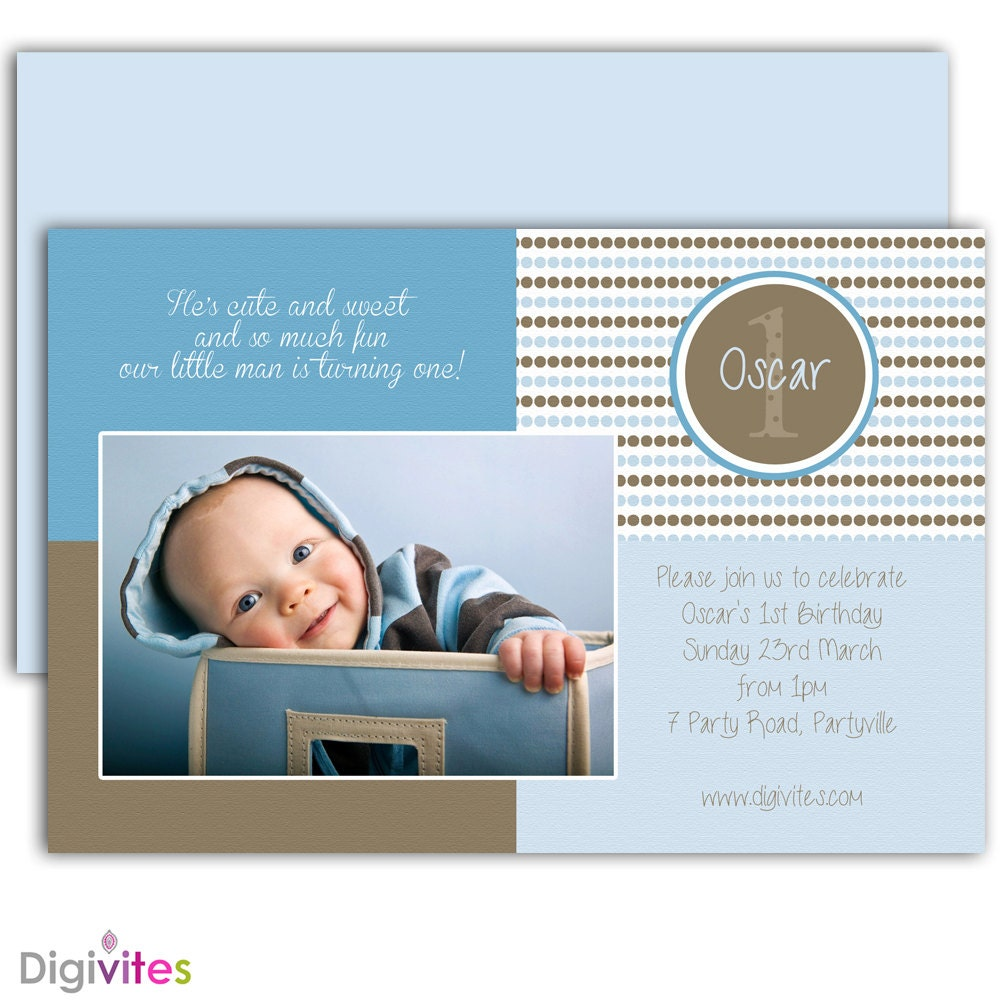 Baby boy invitation1st birthday boy invitationboy zoom stopboris Image collections