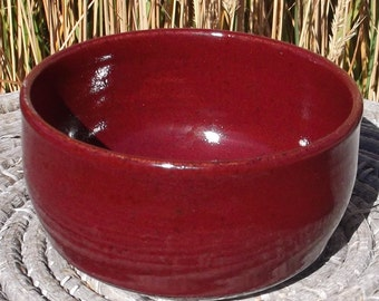 Red Pottery Dish