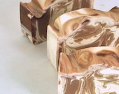 Chocolate Fudge Soap - Handmade Cold Process Soap - Fall / Autumn Soap - Gift For Her - Stocking Stuffer