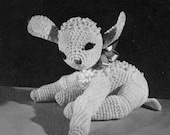 Amigurumi Crochet Pattern - Lamb Toy + BONUS Pin Cushion - Vintage Pattern ...PDF eBook