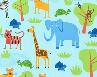 Jungle Party by Edward Miller for Robert Kaufman, LAST 38 Inches