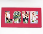 Word / Phrase Photo Mat - Personalized Custom Cut Matting - Frame Ready
