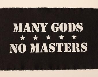 many gods no masters patch