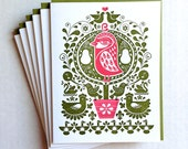 Partridge in a Pear Tree - set of 6