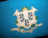 Vintage Connecticut State Flag