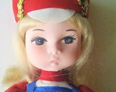 Vintage Bradley Pose Doll Majorette Fourth of July 4th of July
