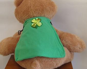 Shamrock Drawstring Backpack Handmade by Fashion Green T Bags