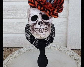 Halloween Decoration Fancy Skull for Halloween Party Halloween Ornament