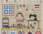 The Quilter Cross Stitch Pattern