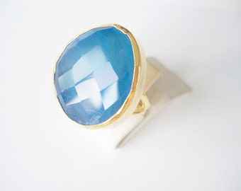 Special  Blue Agate ring