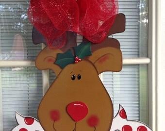 Christmas door hanger 3D.  IN STOCK!