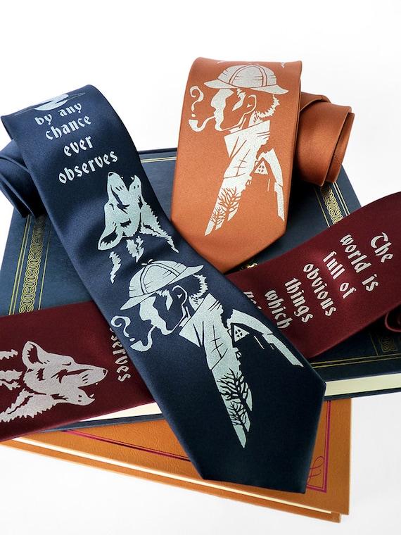Sherlock Holmes Necktie | Sherlock Gift Guide