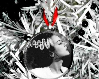 Bride of Frankenstein Christmas Tree  Ornament