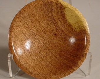 Texas Mesquite Wood Bowl Turned Wooden Bowl Art Number 5805