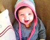 Sugarplum baby bonnet