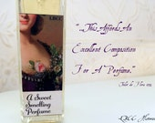 Limited Edition: 1772 Sweet Smelling Perfume - Toilet De Flora