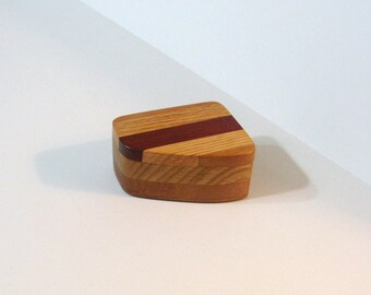 Trinket Box Made Of Three Woods