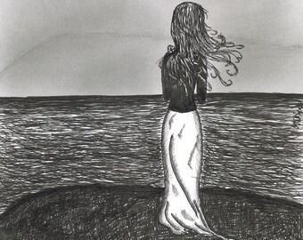 CATALINA // 8x10 At Sea fine art print