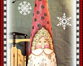 Apple Tree Cottage Original Design E Pattern  -  Village Cone Santa