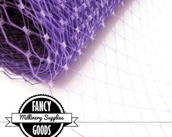 Lilac - Lavender - Veiling - Netting - Russian / French - 1 Yard
