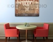 Pekingese Dog kitchen diner artwork on gallery wrapped canvas by Stephen Fowler Pick Your Breed