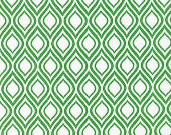Sale fabric, Christmas fabric, Tribal fabric, Metro Living fabric- Mod Stencil in Kelly- Fat Quarter to Yards. Choose the Cut