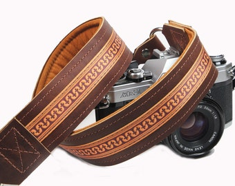 Leather Camera Strap - Britchin