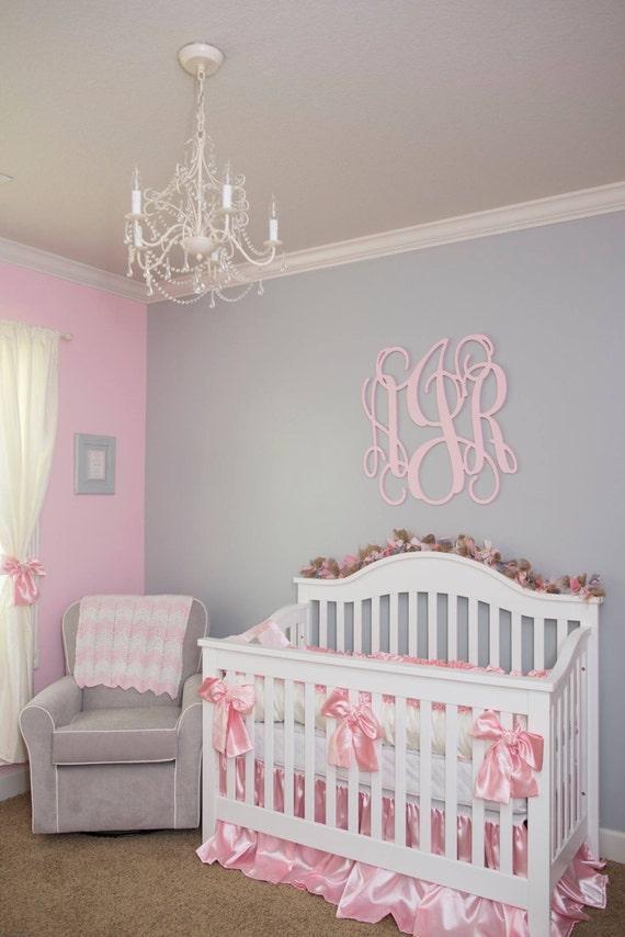 Luxury Baby Boy Rooms: NEW Custom Faux Silk & Satin Luxury Posh Baby Nursery With