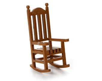 Unique Wood Rocking Chair Related Items Etsy