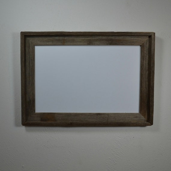 11x17 Poster Frame From Repurposed Wood By Barnwood4u On Etsy