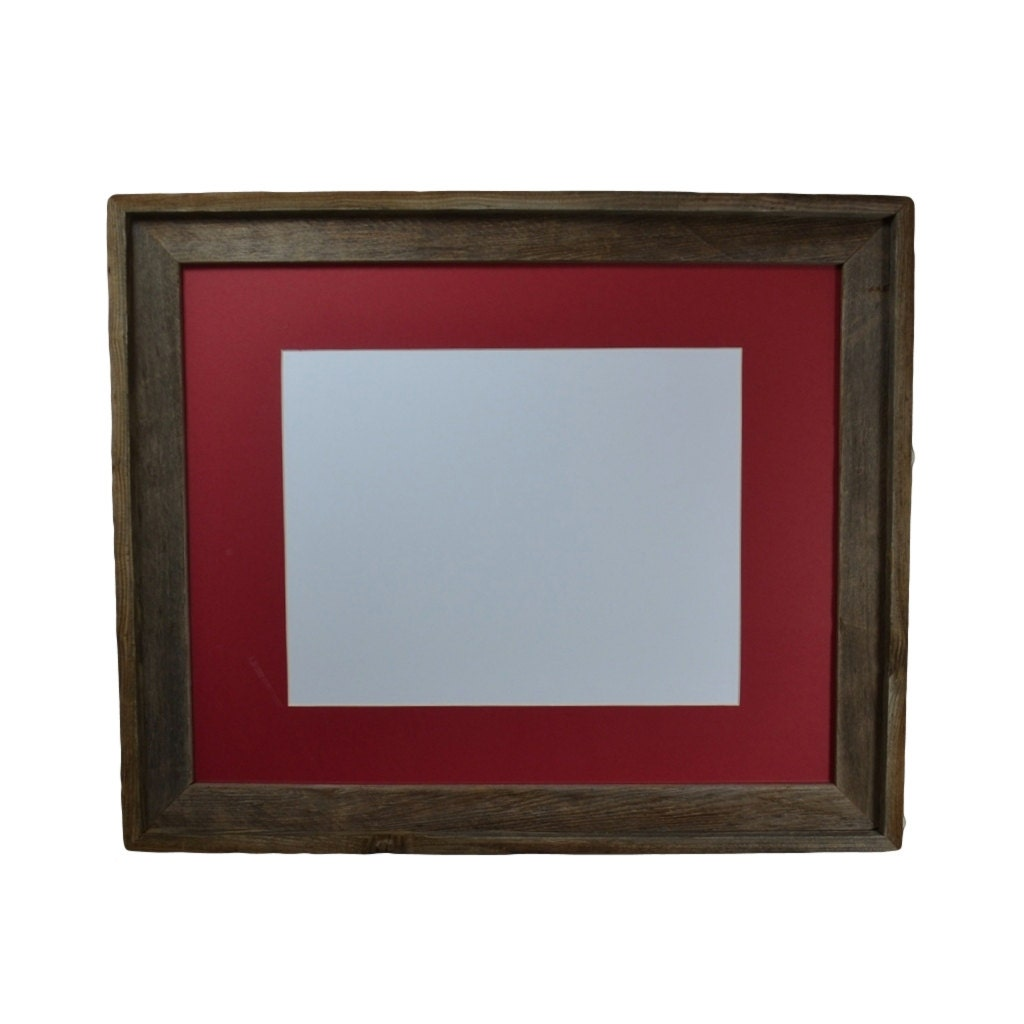 Earthy And Natural 16 X 20 Wood Picture Frame With By