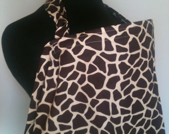 Nursing Cover, Breastfeeding Feeding Cover up, Nursing cover up, Giraffe Print