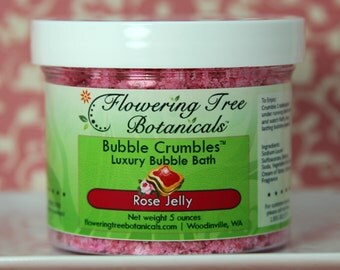 Rose Jelly Bubble Crumbles (TM) - Bubble Bath