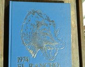 Vintage 1960's Silver Spur 1968 High School Yearbook, Class of 68, Student photos, R Texana,  Corpus Christi, Texas, Ripe for Scrapbooking