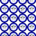 """INSTANT DOWNLOAD / Police Man Patrol Car Party 2"""" printable Party Circles / Cupcake Topper / Stickers / Thank You Tags"""