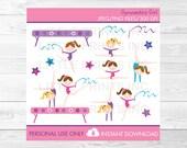 Gymnastics Girl Clipart C...