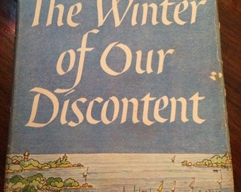 John Steinbeck The Winter of Our Discontent, 1st Edition 1961 Viking with DJ