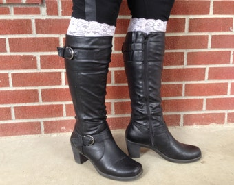 Lace Boot Cuff, Boot Topper