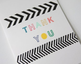 Pop Thank You Card
