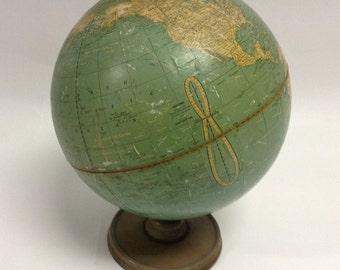 1940's Vintage Universal Terrestrial 10.5 inch globe