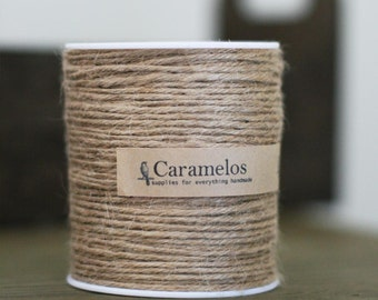 100 yds of Natural Jute Twine Cord
