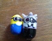 Evil Minion, Regular Minion Inspired Earrings