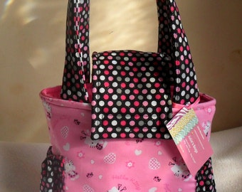 Hello Kitty Ladybug Toddler/Short Trip Diaper Bag
