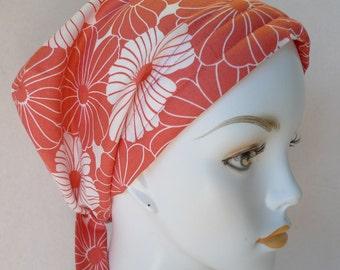 Floral Cancer Chemo Cotton Hat Scarf Cap Head Wrap Alopecia Turban Bad Hair Day